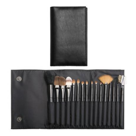 PF0082TY-16N 16-pc make up brush set w/pouch