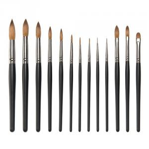 S8029GM 13-pc nail painted brush set