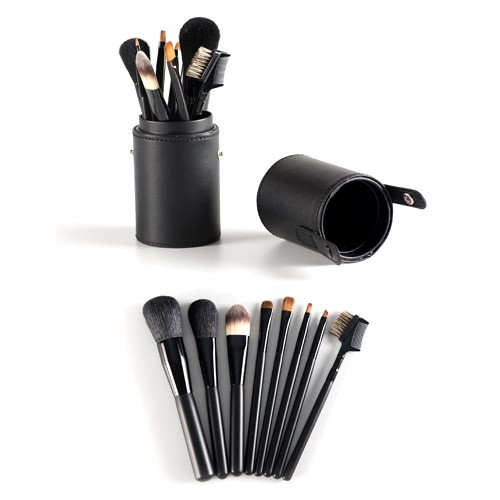 PF0140 8-pc make up brush set w/ barrel