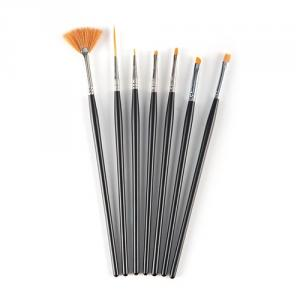 S8089 7-pc nail painted brush set