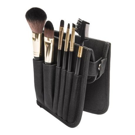 PF0223M 6-pc make up brush set w/cosmetic bag