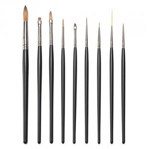 S8727GM 9-pc nail painted brush set